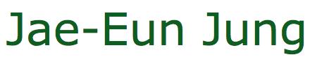 Jae-Eun Jung Logo